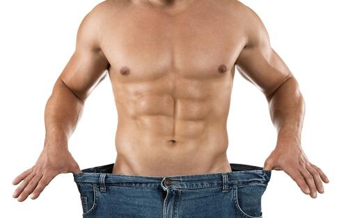 Übungen zum Abnehmen - Männerbrüste